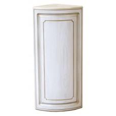 Шкаф навесной угловой радиусный Анжелика