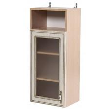 Шкаф навесной витражный Анжелика с 1 дверкой