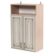 Шкаф навесной Анжелика с дверками и баллюстрадой