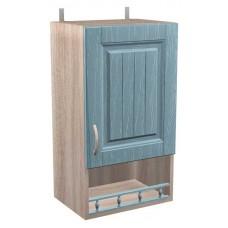 Шкаф навесной Кантри с 1 дверкой и баллюстрадой