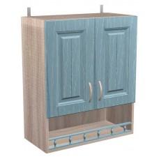 Шкаф навесной Кантри с дверками и баллюстрадой