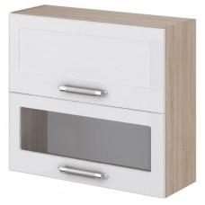 Шкаф навесной с 2 дверками, открывание вверх Агата