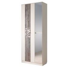 Шкаф Тереза-2 распашной с зеркалом 900 мм