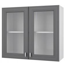 Витрина с 2 дверками Ева