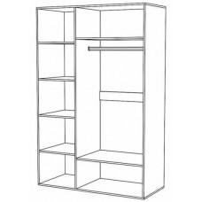 Шкаф 3-дверный Ненси